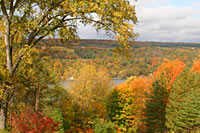 Fall on Keuka Lake