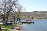 Keuka Lake Shoreline